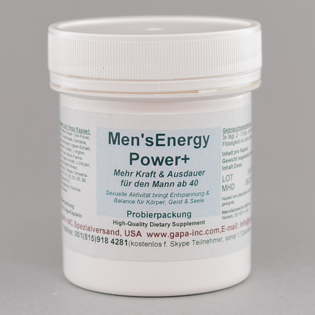 Men's Energy Power+ Probierpackung