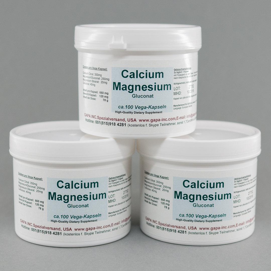 calcium und magnesium zusammen nehmen