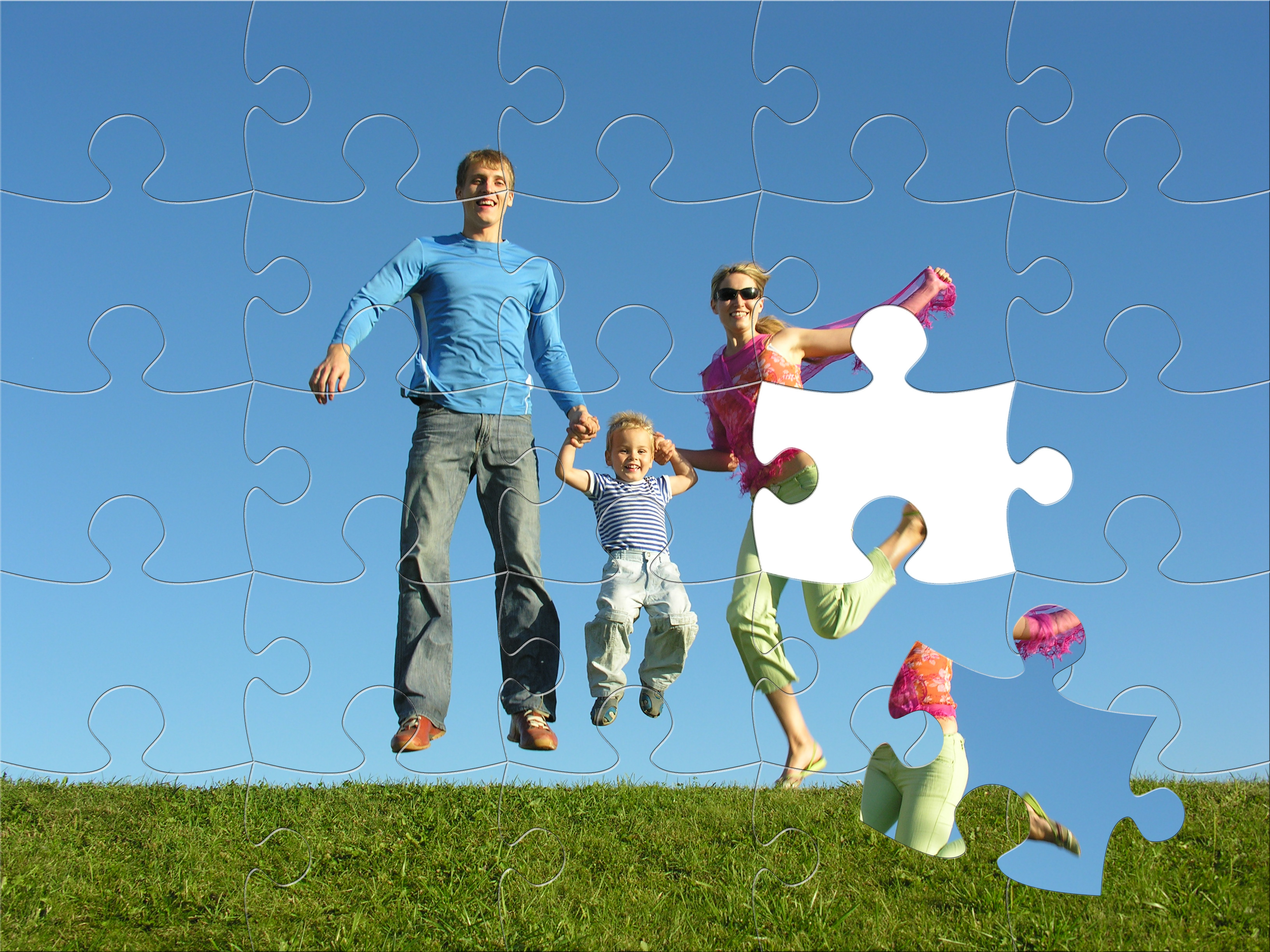 bigstock-fly-happy-family-puzzle-6758061